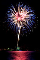 Lake Conroe C of C Fireworks 7-4-2014